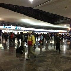 Photo taken at Terminal Central de Autobuses del Poniente by Pati P. on 4/1/2013