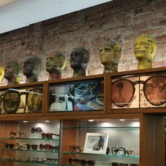 Photo taken at Moscot by Federica C. on 3/8/2015