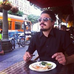 Photo taken at Mai Mexican Kitchen by Francisco R. on 6/28/2013
