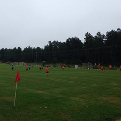 Photo taken at YAKS Soccer Complex by Ronnie T. on 9/13/2014