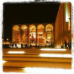 Photo taken at The Metropolitan Opera by @HungryEditor B. on 12/16/2012