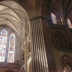 Photo taken at Cathédrale Notre-Dame de Coutances by no more on 8/22/2013
