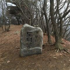Photo taken at 도덕봉 by Hyun C. on 1/3/2016