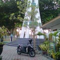 "Photo taken at Masjid Agung ""DARUSSALAM"" Bojonegoro by Retta A. on 10/19/2012"
