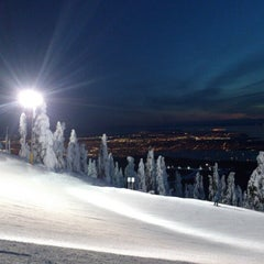 Photo taken at Cypress Mountain by Devo M. on 1/15/2013