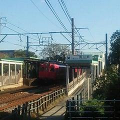 Photo taken at 男川駅 (Otogawa Sta.) by zoumasa on 10/26/2013