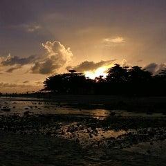 Photo taken at Pantai Ujung Genteng by Abah E. on 5/9/2015