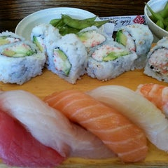 Photo taken at Todo Sushi by Denise S. on 6/19/2014