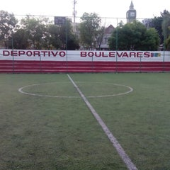 Photo taken at Deportivo Boulevares by Carlos I. on 3/27/2015