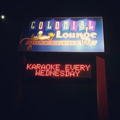 Photo taken at Colonial Lounge by Colleen N. on 9/27/2012