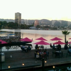 Photo taken at The Lake Chalet Seafood Bar & Grill by Sukhjit G. on 6/30/2013
