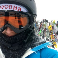 Photo taken at Wildwood Express - Chair 3 by Maryana P. on 12/4/2013