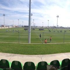 Photo taken at Territorio Santos Modelo Estadio by Gustavo D. on 11/25/2015