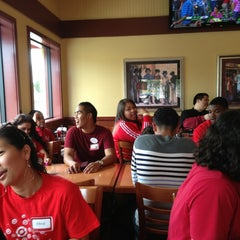 Photo taken at Shakey's Pizza Parlor by Jaron K. on 5/17/2013