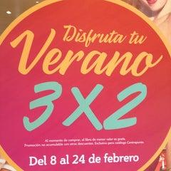 Photo taken at Librería Contrapunto by Mario V. on 2/10/2013