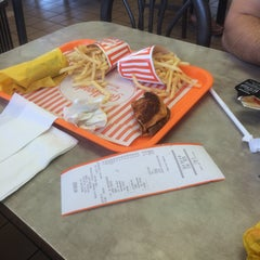 Photo taken at Whataburger by Abbey P. on 8/5/2015