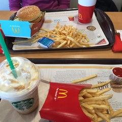 Photo taken at McDonald's by Eylül K. on 4/10/2015