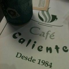 Photo taken at Café Caliente by Anne C. on 12/21/2012