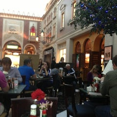 Photo taken at Tintoretto Bakery (Venetian Hotel) by Sinem O. on 2/15/2013