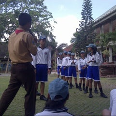 Photo taken at SMAN 1 Kuta Utara by Cintya K. on 10/6/2013