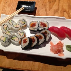 Photo taken at Sushi Rock by Park S. on 4/15/2013