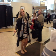 Photo taken at TSA Security Checkpoint by Jamie M. on 12/6/2013
