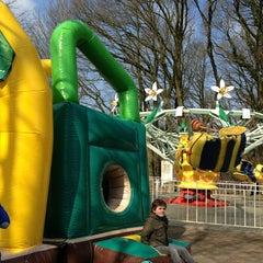 Photo taken at Amusementspark Tivoli by helm c. on 4/1/2013