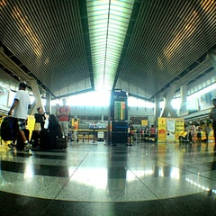 Photo taken at Ninoy Aquino International Airport (MNL) Terminal 3 by Marc M. on 9/24/2013