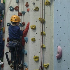 Photo taken at Big Rock Climbing Centre by Ryan M. on 1/20/2013