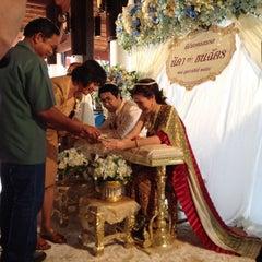 Photo taken at Sukhothai Heritage Resort by Klaow S. on 2/27/2015