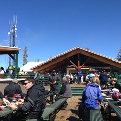 Photo taken at Summit Deck & Grill at Northstar California™ Resort by Nadia S. on 3/9/2013