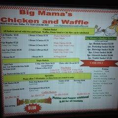 Photo taken at Big Mamas Chicken & Waffles by Raymo E. on 8/9/2012