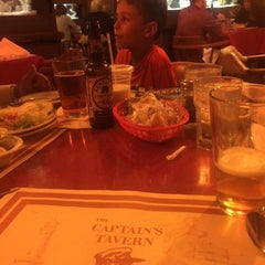 Photo taken at Captain's Tavern by Isa A. on 10/23/2015