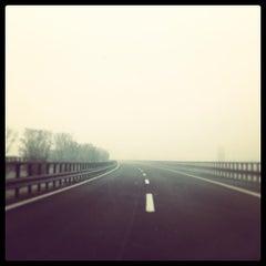 Photo taken at A22 - Mantova Sud by Cristina P. on 12/20/2012