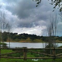 Photo taken at Oliva de la Frontera by Ch M. on 3/27/2013