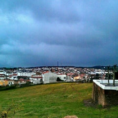 Photo taken at Oliva de la Frontera by Ch M. on 3/28/2013