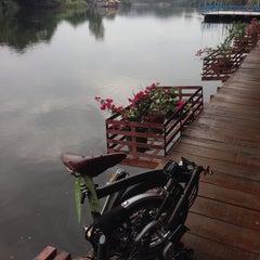 Photo taken at เดือนฉายรีสอร์ท กาญจนบุรี by P' Tum . on 8/1/2014