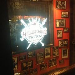 Photo taken at Hammersmith Tattoo by Hammersmith T. on 1/15/2014