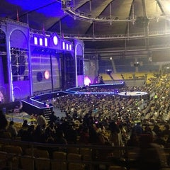 Photo taken at 올림픽체조경기장 (Olympic Gymnastics Arena) by Saerom K. on 12/30/2012