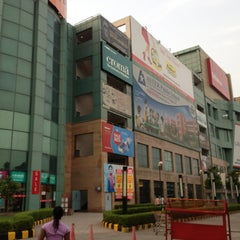 Photo taken at Ansal Plaza, Greater Noida by ambrose c. on 8/7/2013