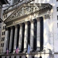 Photo taken at New York Stock Exchange by Bernardo A. on 10/24/2013