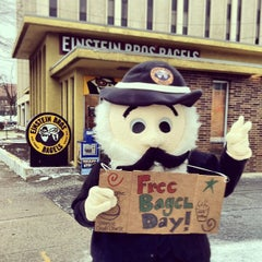 Photo taken at Einstein Bros Bagels by Gregory W. on 2/9/2013