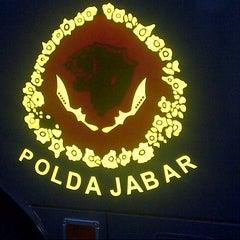 Photo taken at Polda Jabar by Naufal A. on 9/4/2013