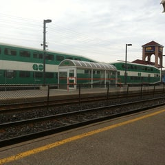 Photo taken at Oakville GO Station by Chris T. on 4/28/2013