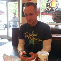 Photo taken at Jimmy John's by Scott J. on 10/12/2012