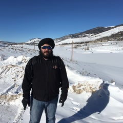 Photo taken at Dillon Reservoir by Amardeep P. on 1/1/2016