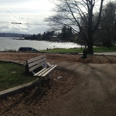 Photo taken at Seward Park by Ed on 3/17/2013