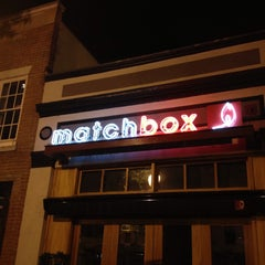Photo taken at Matchbox Vintage Pizza Bistro by Aaron C. on 5/25/2013