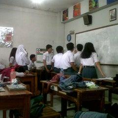 Photo taken at SMA Negeri 6 Bandung by Mayang A. on 9/16/2013