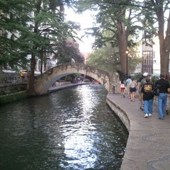 Photo taken at The San Antonio River Walk by Phil L. on 7/29/2013
